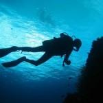 Vladimir madrina d'eccezione per subacquei non vedenti